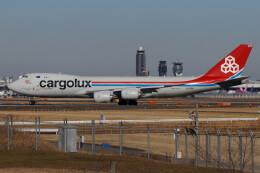 じゃがさんが、成田国際空港で撮影したカーゴルクス 747-8R7F/SCDの航空フォト(飛行機 写真・画像)
