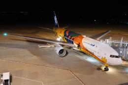 ふうちゃんさんが、神戸空港で撮影した全日空 777-281/ERの航空フォト(飛行機 写真・画像)