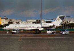KAZKAZさんが、羽田空港で撮影した中国企業所有 G-V-SP Gulfstream G550の航空フォト(飛行機 写真・画像)