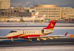 Cygnus00さんが、新千歳空港で撮影したHanhwa Airlines BD-100-1A10 Challenger 300の航空フォト(飛行機 写真・画像)