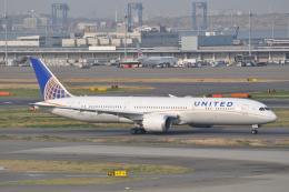 Flying A340さんが、羽田空港で撮影したユナイテッド航空 787-9の航空フォト(飛行機 写真・画像)