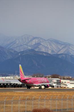 乙事さんが、松本空港で撮影したフジドリームエアラインズ ERJ-170-200 (ERJ-175STD)の航空フォト(飛行機 写真・画像)