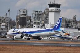 いんちょーさんが、松山空港で撮影した全日空 A321-272Nの航空フォト(飛行機 写真・画像)