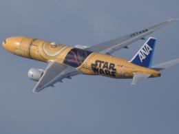 いんちょーさんが、松山空港で撮影した全日空 777-281/ERの航空フォト(飛行機 写真・画像)