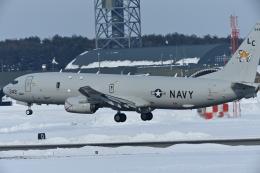 パラノイアさんが、三沢飛行場で撮影したアメリカ海軍 P-8A (737-8FV)の航空フォト(飛行機 写真・画像)
