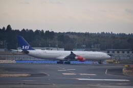 hachiさんが、成田国際空港で撮影したスカンジナビア航空 A340-313Xの航空フォト(飛行機 写真・画像)