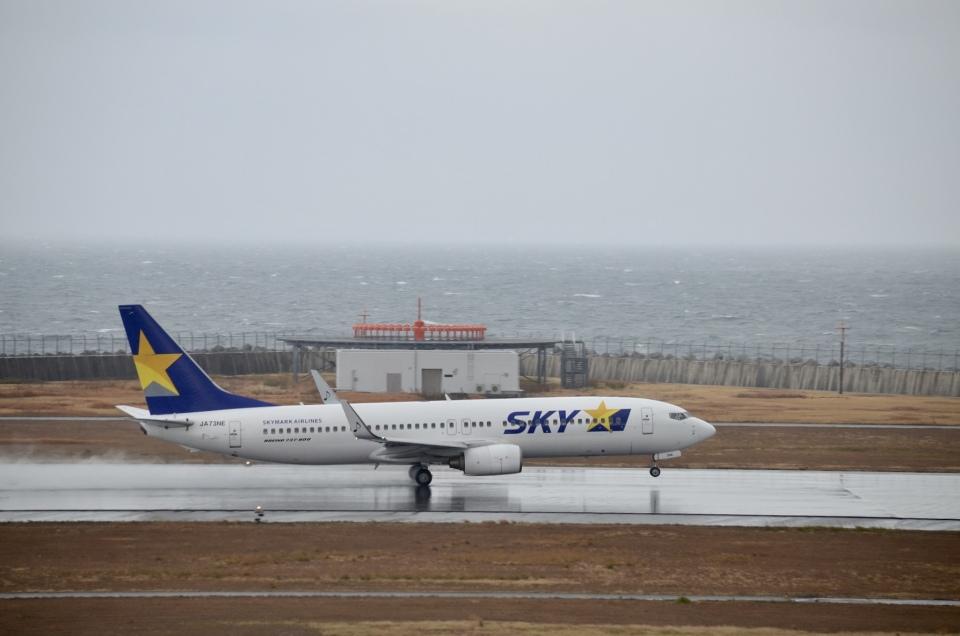 hirokongさんのスカイマーク Boeing 737-800 (JA73NE) 航空フォト