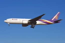 あおいそらさんが、成田国際空港で撮影したタイ国際航空 777-2D7/ERの航空フォト(飛行機 写真・画像)