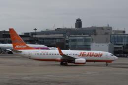 hachiさんが、成田国際空港で撮影したチェジュ航空 737-8ASの航空フォト(飛行機 写真・画像)