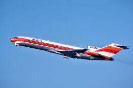 パール大山さんが、サンフランシスコ国際空港で撮影したパシフィック・サウスウエスト・エアラインズ 727-214の航空フォト(飛行機 写真・画像)