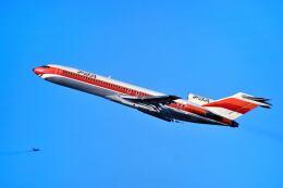 パール大山さんが、サンフランシスコ国際空港で撮影したパシフィック・サウスウエスト・エアラインズ 727-214/Advの航空フォト(飛行機 写真・画像)