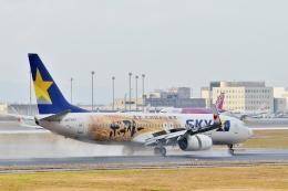 h_wajyaさんが、新千歳空港で撮影したスカイマーク 737-86Nの航空フォト(飛行機 写真・画像)