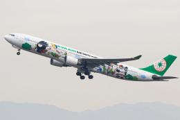 三軒 那乃さんが、福岡空港で撮影したエバー航空 A330-302Xの航空フォト(飛行機 写真・画像)