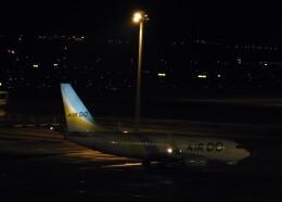 まひろさんが、中部国際空港で撮影したAIR DO 737-781の航空フォト(飛行機 写真・画像)