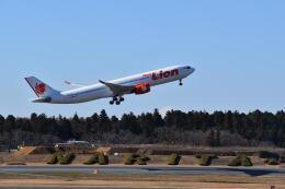 hachiさんが、成田国際空港で撮影したタイ・ライオン・エア A330-941の航空フォト(飛行機 写真・画像)