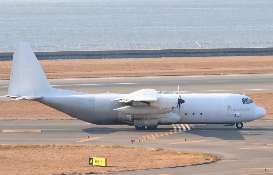 tamtam3839さんのリンデン・エアカーゴ Lockheed Martin C-130 Hercules (N402LC) 航空フォト