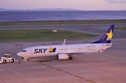 mild lifeさんが、神戸空港で撮影したスカイマーク 737-8FZの航空フォト(飛行機 写真・画像)