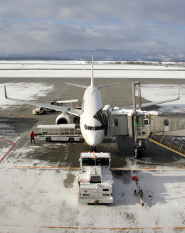 CL&CLさんが、旭川空港で撮影した日本航空 737-846の航空フォト(飛行機 写真・画像)
