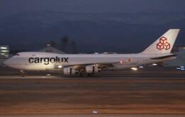 もにーさんが、小松空港で撮影したカーゴルクス 747-467F/SCDの航空フォト(飛行機 写真・画像)