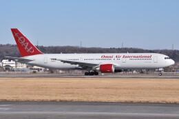 デルタおA330さんが、横田基地で撮影したオムニエアインターナショナル 767-36N/ERの航空フォト(飛行機 写真・画像)