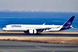 はやさんが、羽田空港で撮影したルフトハンザドイツ航空 A350-941の航空フォト(飛行機 写真・画像)