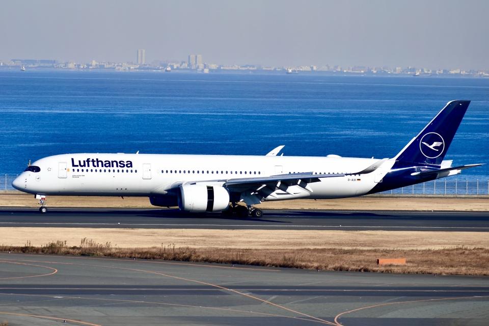 はやさんのルフトハンザドイツ航空 Airbus A350-900 (D-AIXI) 航空フォト