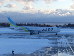 蒲田っ子さんが、函館空港で撮影したAIR DO 767-33A/ERの航空フォト(飛行機 写真・画像)
