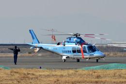Gambardierさんが、岡南飛行場で撮影した佐賀県警察 AW109SPの航空フォト(飛行機 写真・画像)