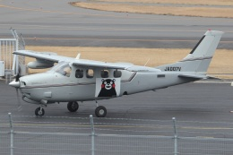MOR1(新アカウント)さんが、鹿児島空港で撮影した日本法人所有 P210N Pressurized Centurion IIの航空フォト(飛行機 写真・画像)