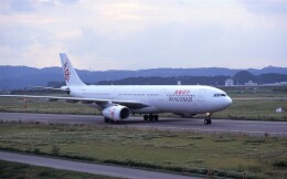 kumagorouさんが、仙台空港で撮影した香港ドラゴン航空 A330-342の航空フォト(飛行機 写真・画像)