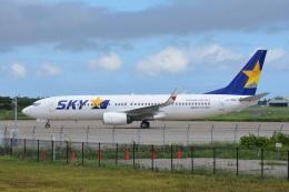 LEGACY-747さんが、茨城空港で撮影したスカイマーク 737-86Nの航空フォト(飛行機 写真・画像)