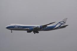 LEGACY-747さんが、成田国際空港で撮影したエアブリッジ・カーゴ・エアラインズ 747-83QFの航空フォト(飛行機 写真・画像)