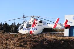 フレッシュマリオさんが、水戸済生会総合病院ヘリポートで撮影した朝日航洋 MD-900 Explorerの航空フォト(飛行機 写真・画像)