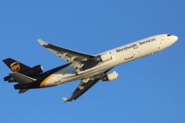 キャスバルさんが、フェニックス・スカイハーバー国際空港で撮影したUPS航空 MD-11Fの航空フォト(飛行機 写真・画像)