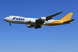 メンチカツさんが、成田国際空港で撮影したポーラーエアカーゴ 747-87UF/SCDの航空フォト(飛行機 写真・画像)