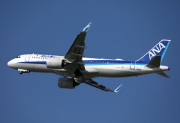 MOHICANさんが、福岡空港で撮影した全日空 A320-271Nの航空フォト(飛行機 写真・画像)