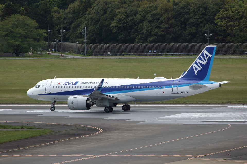 MOHICANさんの全日空 Airbus A320neo (JA216A) 航空フォト