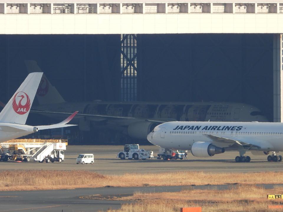 チャレンジャーさんの日本航空 Airbus A350-900 (JA04XJ) 航空フォト
