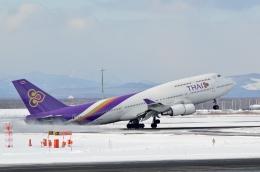 航空フォト:HS-TGX タイ国際航空 747-400
