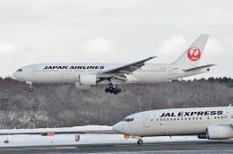 h_wajyaさんが、新千歳空港で撮影した日本航空 777-289の航空フォト(飛行機 写真・画像)