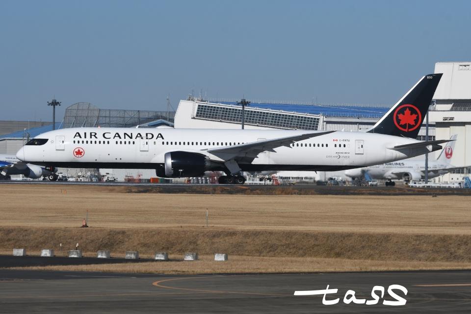 tassさんのエア・カナダ Boeing 787-9 (C-FRTU) 航空フォト