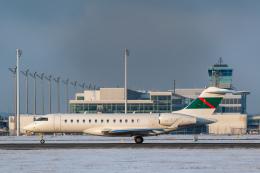 gomaさんが、ミュンヘン・フランツヨーゼフシュトラウス空港で撮影したグローバル・ジェット・ルクセンブルク BD-700-1A10 Global 6000の航空フォト(飛行機 写真・画像)