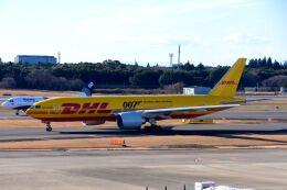 まいけるさんが、成田国際空港で撮影したDHL 777-Fの航空フォト(飛行機 写真・画像)