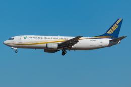Tomo-Papaさんが、成田国際空港で撮影した中国郵政航空 737-4Q8(SF)の航空フォト(飛行機 写真・画像)