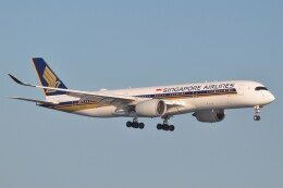 Flying A340さんが、羽田空港で撮影したシンガポール航空 A350-941の航空フォト(飛行機 写真・画像)