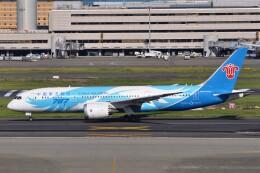 Flying A340さんが、羽田空港で撮影した中国南方航空 787-8 Dreamlinerの航空フォト(飛行機 写真・画像)