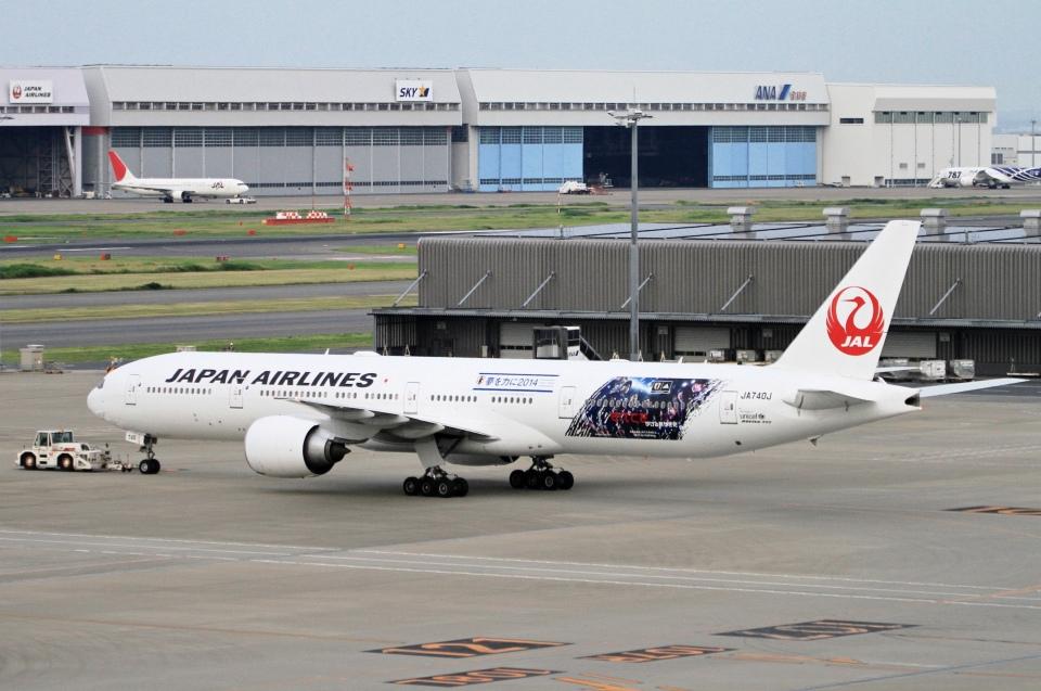 kaeru6006さんの日本航空 Boeing 777-300 (JA740J) 航空フォト