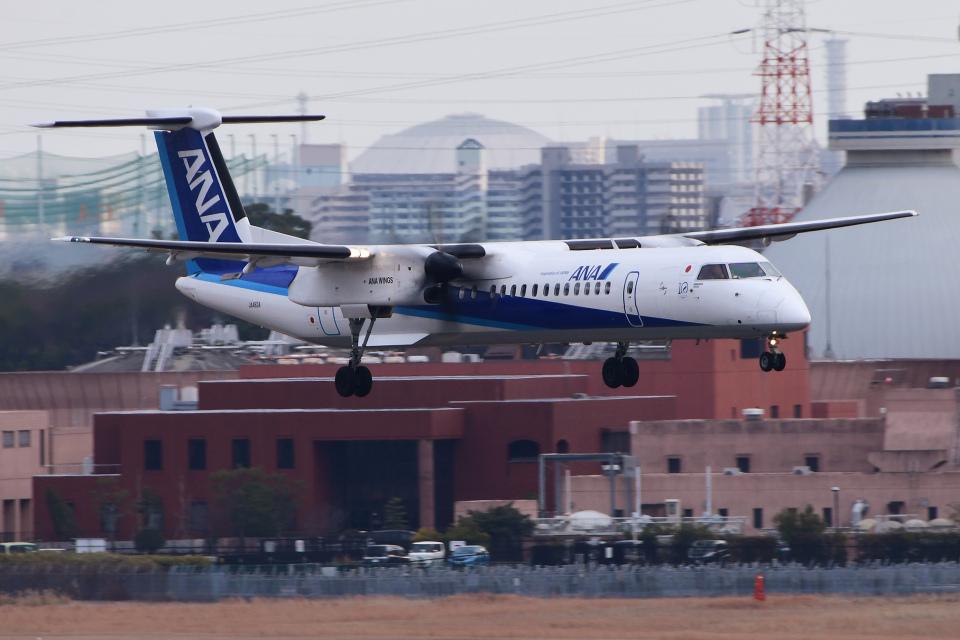 TOPAZ102さんのANAウイングス Bombardier DHC-8-400 (JA463A) 航空フォト
