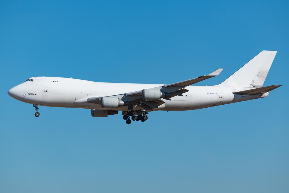 Tomo-Papaさんのアトラス航空 Boeing 747-400 (N407KZ) 航空フォト