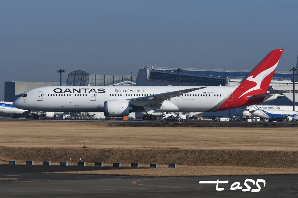 tassさんのカンタス航空 Boeing 787-9 (VH-ZNK) 航空フォト